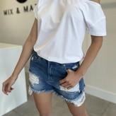 Talia Shoulder Cut-out Top
