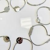 Silver Charm Bracelets with Swarovski
