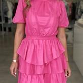 Ruby Puff Sleeve Dress