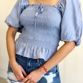 Mabel Square Neck Puff Sleeve Blouse