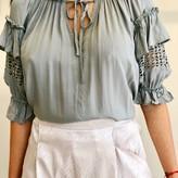 Myra Lace Detail Blouse