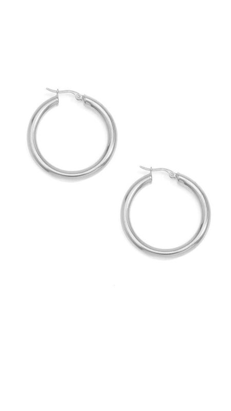 Thick Small Hoops