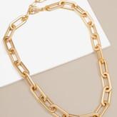 Oblong Link Chunky Necklace