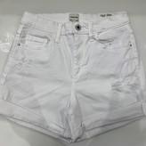 Caroline High Rise Denim Shorts