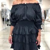 Kendall Off-Shoulder Eyelet Dress