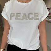 """""""Peace"""" Embellished T-Shirt"""