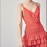 Melanie Smocked Ruffle Dress