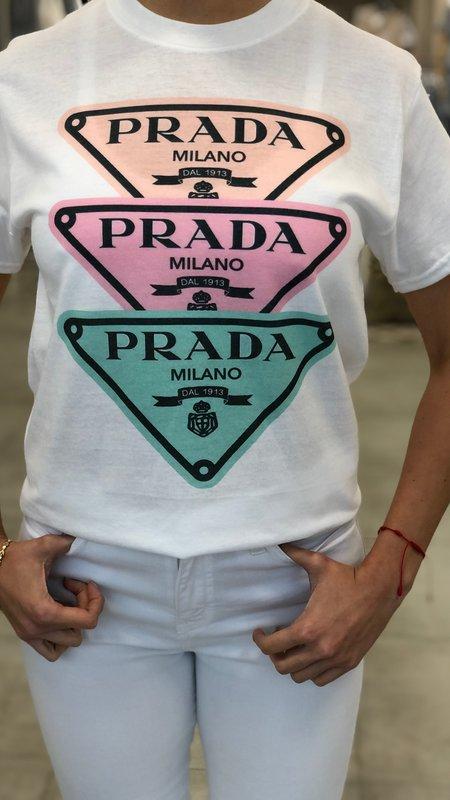 Ximena Triple Color Design T-Shirt