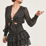 Paityn Floral Smock Skirt