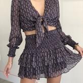 Sarah Floral Smock Skirt