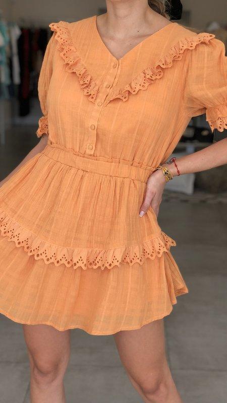 Kadence Lace Trim Mini Dress