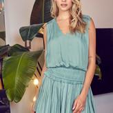 Jessica Pleated Sleeveless Dress