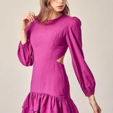 Hazel Open Back Romantic Mini Dress