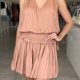 Pola Pleated Sleeveless Dress