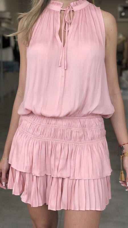 Layla Smocking Sleeveless Dress