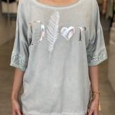 Dior Sequin Sleeve Top