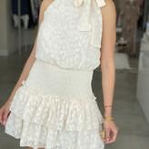 Eleanor Woven Leopard Textured Dress