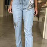 Valentina Glitter Patch w/ Zipper Detail