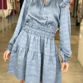 Stella Longsleeve Ruffled Mini Dress