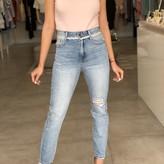 Julieta High Rise Rigid Skinny Jeans