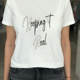 """""""Keeping It Real"""" Graphic Tee"""