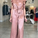 Lacey Jumpsuit with Ruffles