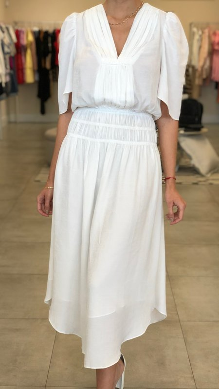 Grace V Neck Long Dress