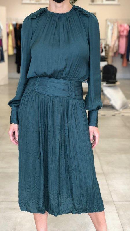 Elizabeth Pleated Midi Dress