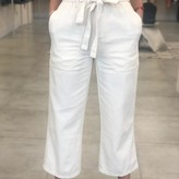 Sharon Denim Cropped Pants
