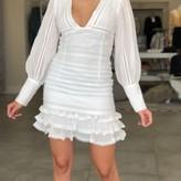 Rosalia Ruffle Long Sleeve Dress