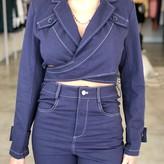Naomi Denim Crop Jacket