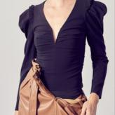 Janet deep V-neck Bodysuit