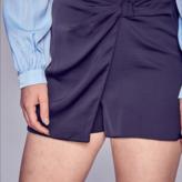 Daniela Side Twist Mini Skirt