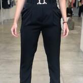Julie Paper Bag Waist Belt Pants