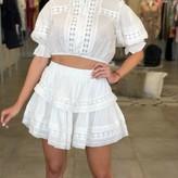 Lexi Lace Detail Top & Skirt Set  ( 2 pieces)