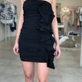 Nina Ruffle Ruched Dress