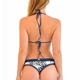 Denim Cheetah Bikini