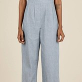 Rusching Front Jumpsuit