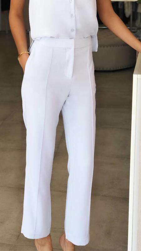 Straight Leg Woven Pant
