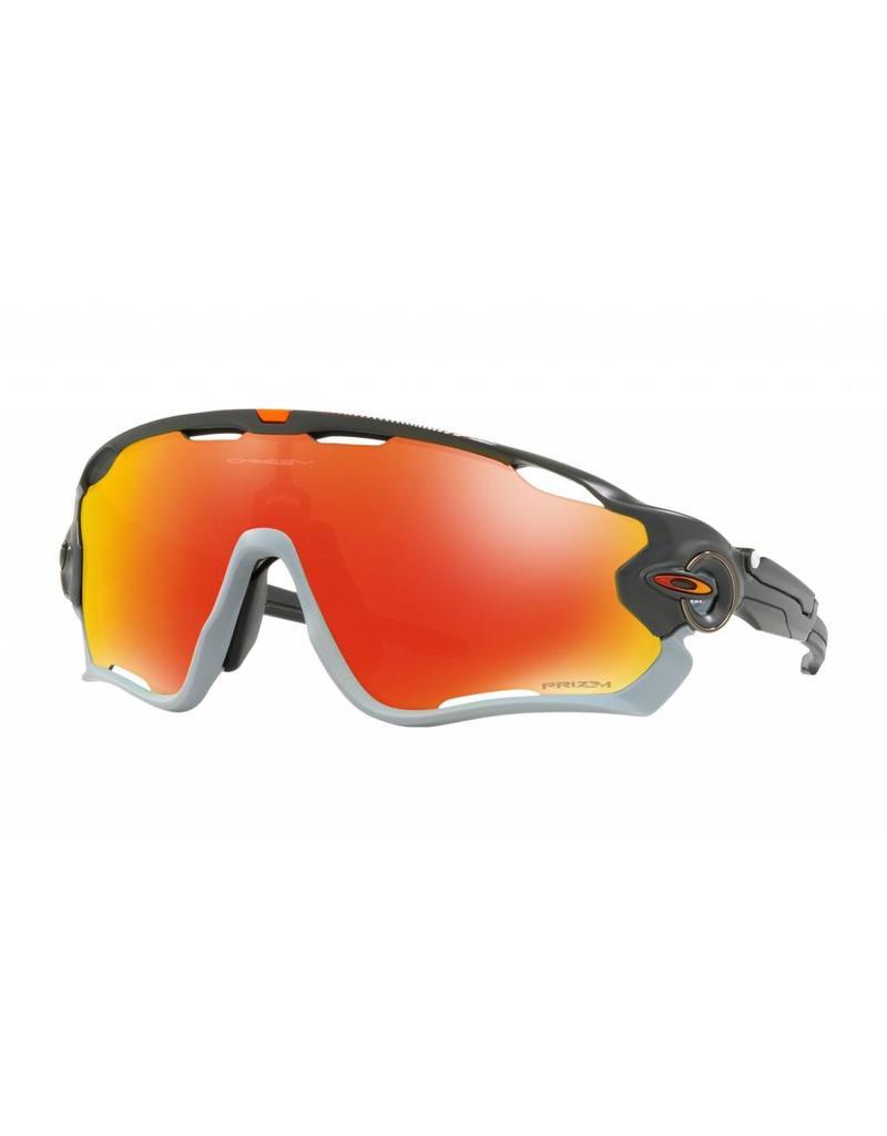 Oakley Oakley Jawbreaker Aero Matte Carbon / Prizm Ruby Lens