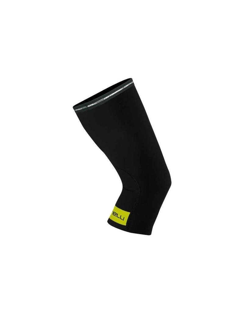 Castelli Castelli Knee warmer Thermoflex Black/Yellow Medium