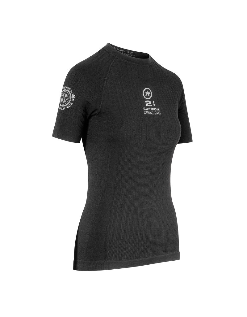Assos Assos SkinFoil Short sleeve Spring S7 Black