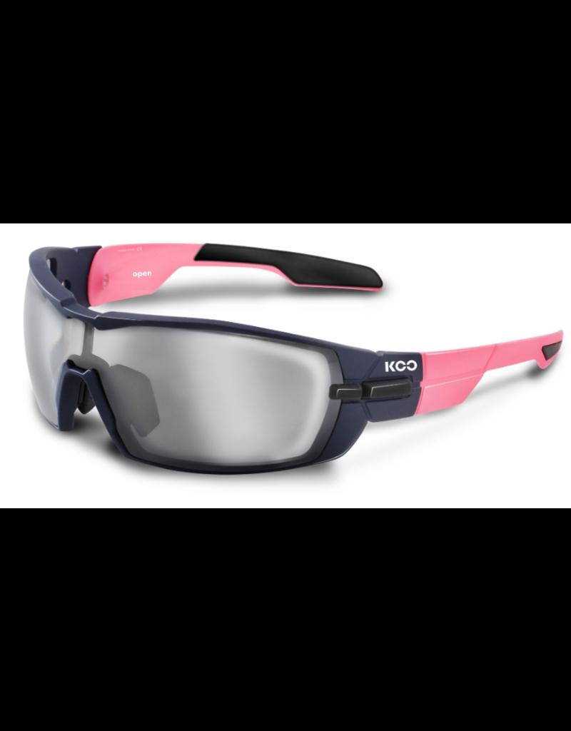 KOO KOO Open Pink/Navy Blue Matt