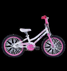 "Radius Dreamin Aluminium 20"" Pearl White/Pink"