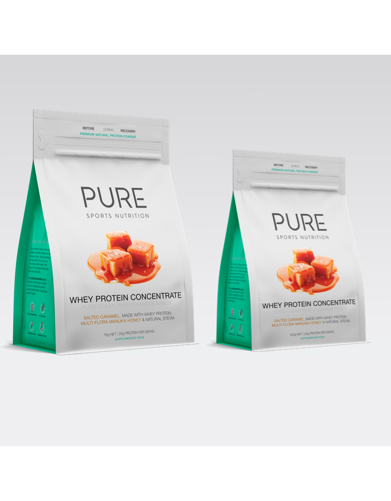 Pure Sports Nutrition Pure Whey Protein Salted Caramel / Manuka Honey 500Grams