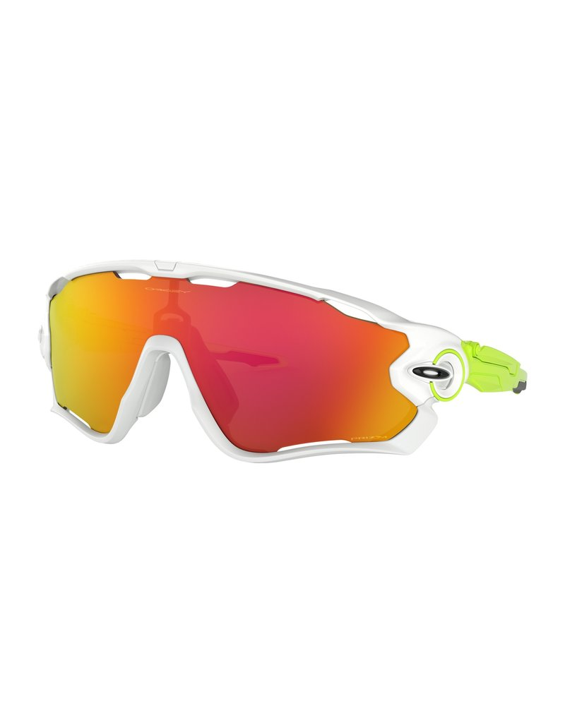 Oakley Oakley Jawbreaker White / Prizm Ruby Lens Origins Collection
