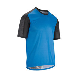 Assos Assos Trail Short Sleeve Jersey Corfu Blue Medium