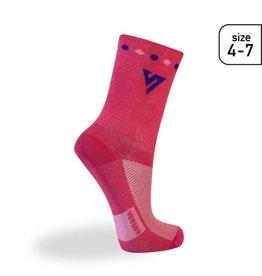 Versus Versus Pink (Race) Socks Size 4-7