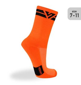 Versus Versus Orange (Trail) Socks Size 7-11