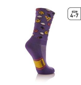 Versus Versus liquorice Socks Size 4-7